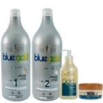 Kit Salvatore Blue Gold Premium + Kit Home Care Xpres